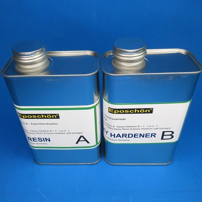 Epoxy Resin and Hardener qty 1 set at 20 kg
